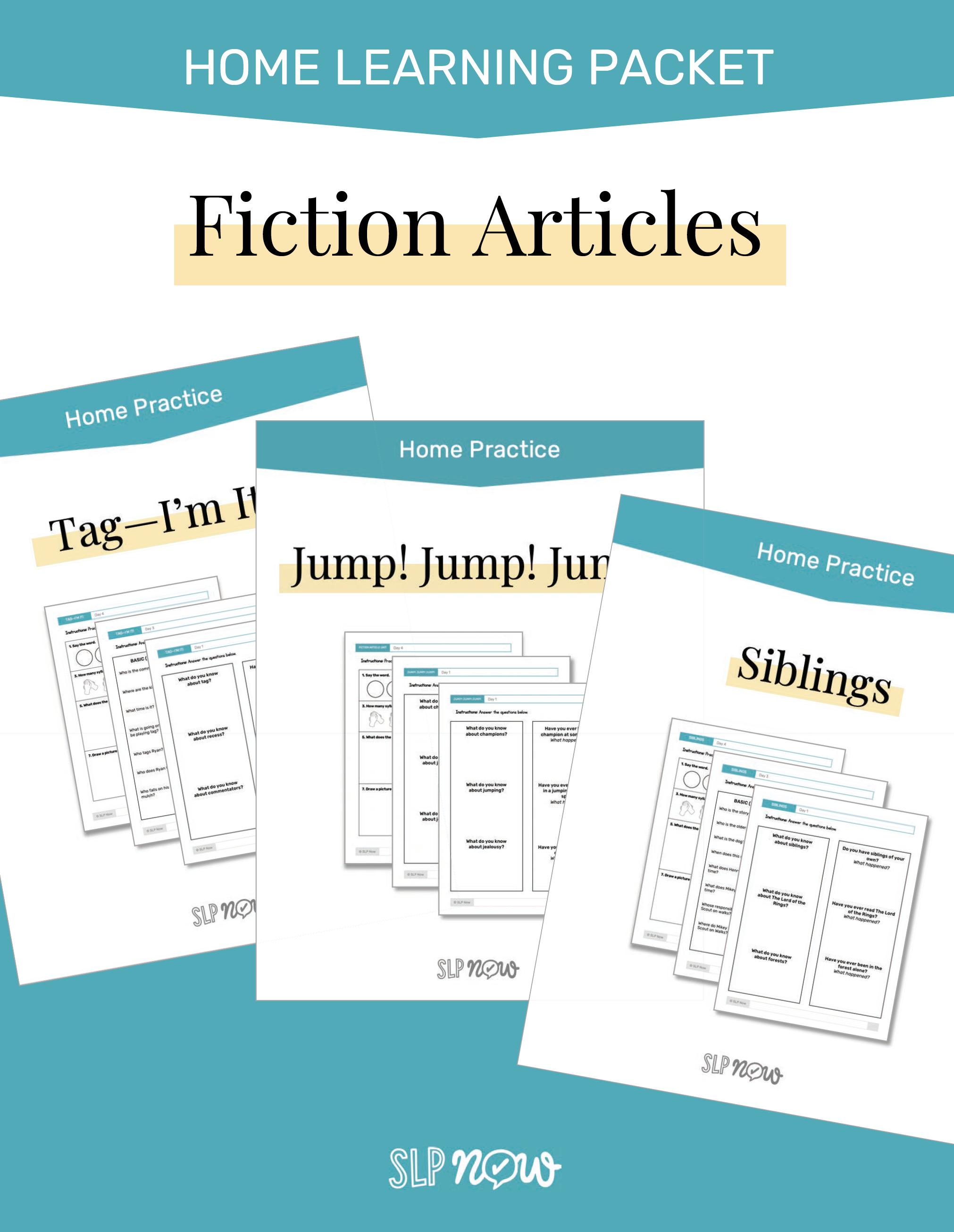 SLP Now Fiction Article